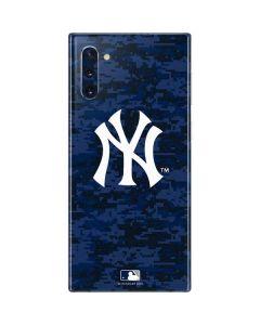 New York Yankees Digi Camo Galaxy Note 10 Skin