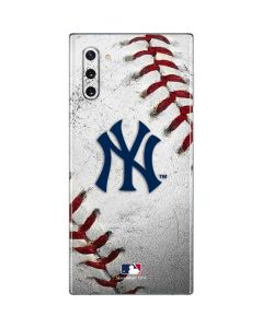 New York Yankees Game Ball Galaxy Note 10 Skin