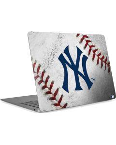New York Yankees Game Ball Apple MacBook Air Skin