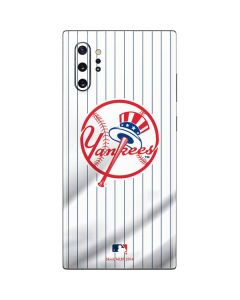 New York Yankees Home Jersey Galaxy Note 10 Plus Skin