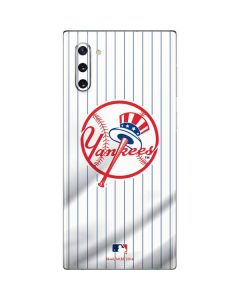 New York Yankees Home Jersey Galaxy Note 10 Skin