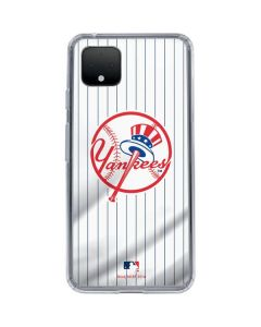 New York Yankees Home Jersey Google Pixel 4 Clear Case
