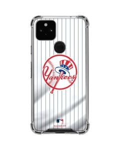 New York Yankees Home Jersey Google Pixel 4a 5G Clear Case