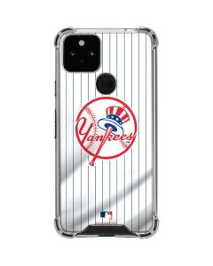 New York Yankees Home Jersey Google Pixel 5 Clear Case