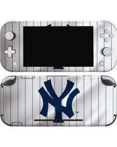 New York Yankees Home Jersey Nintendo Switch Lite Skin