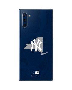 New York Yankees Home Turf Galaxy Note 10 Skin