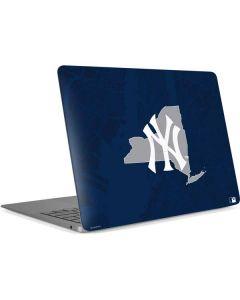 New York Yankees Home Turf Apple MacBook Air Skin