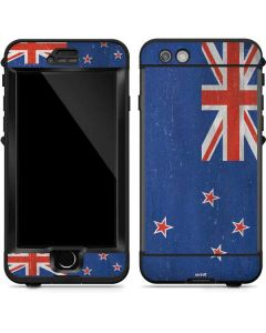 New Zealand Flag Distressed LifeProof Nuud iPhone Skin