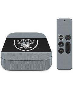 Las Vegas Raiders Zone Block Apple TV Skin