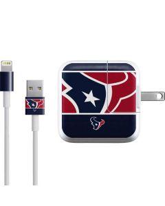 Houston Texans Zone Block iPad Charger (10W USB) Skin