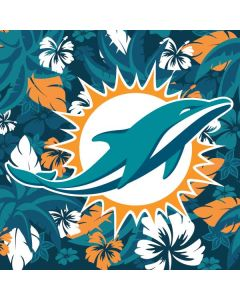 Miami Dolphins Tropical Print HP Pavilion Skin