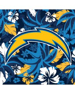 Los Angeles Chargers Tropical Print iPhone 8 Pro Case