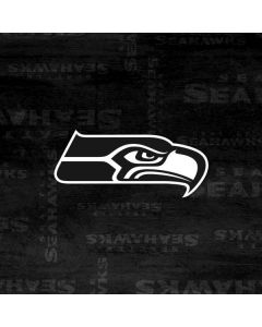 Seattle Seahawks Black & White HP Pavilion Skin