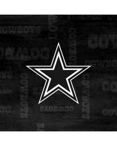 Dallas Cowboys Black & White Generic Laptop Skin