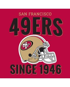 San Francisco 49ers Helmet HP Pavilion Skin
