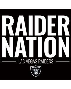 Las Vegas Raiders Team Motto Playstation 3 & PS3 Skin