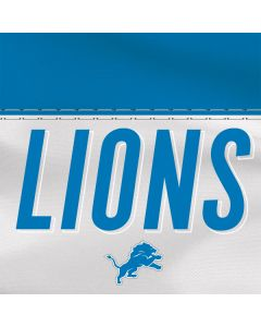 Detroit Lions White Striped Apple TV Skin