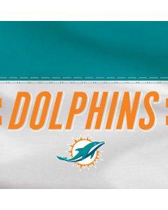 Miami Dolphins White Striped Surface RT Skin