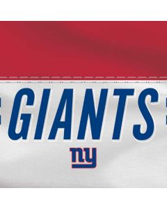 New York Giants White Striped HP Pavilion Skin