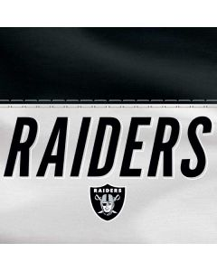 Las Vegas Raiders White Striped Apple TV Skin