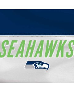 Seattle Seahawks White Striped HP Pavilion Skin