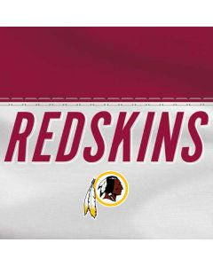 Washington Redskins White Striped HP Pavilion Skin