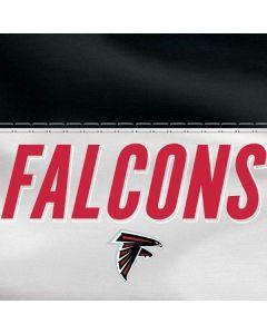 Atlanta Falcons White Striped Apple TV Skin