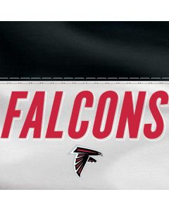 Atlanta Falcons White Striped HP Pavilion Skin