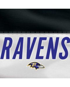 Baltimore Ravens White Striped HP Pavilion Skin
