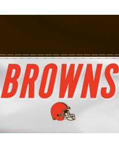 Cleveland Browns White Striped HP Pavilion Skin