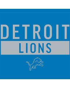 Detroit Lions Blue Performance Series One X Skin