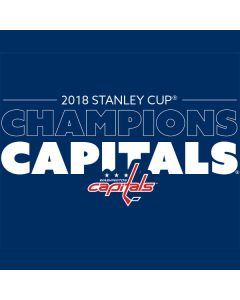 2018 Stanley Cup Champions Capitals Playstation 3 & PS3 Slim Skin