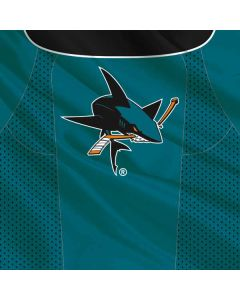 San Jose Sharks Home Jersey PS4 Controller Skin