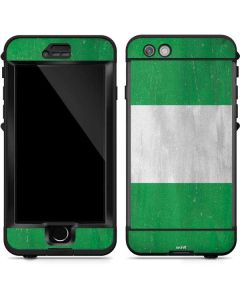 Nigeria Flag Distressed LifeProof Nuud iPhone Skin