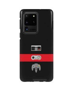 Nintendo Controller Evolution Galaxy S20 Ultra 5G Pro Case