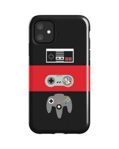 Nintendo Controller Evolution iPhone 11 Impact Case