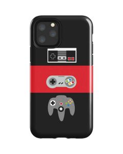 Nintendo Controller Evolution iPhone 11 Pro Impact Case