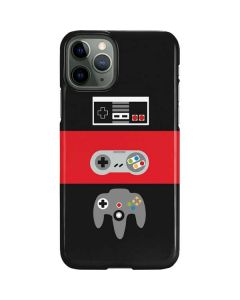 Nintendo Controller Evolution iPhone 11 Pro Lite Case