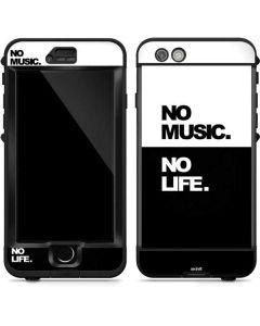No Music No Life LifeProof Nuud iPhone Skin