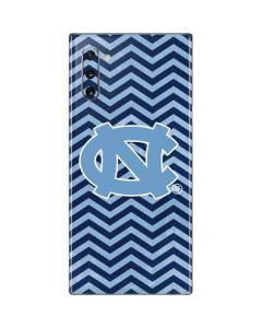 North Carolina Chevron Print Galaxy Note 10 Skin