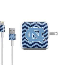 North Carolina Chevron Print iPad Charger (10W USB) Skin