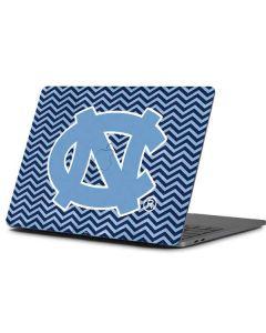 North Carolina Chevron Print Apple MacBook Pro 13-inch Skin