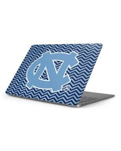 North Carolina Chevron Print Apple MacBook Pro 16-inch Skin