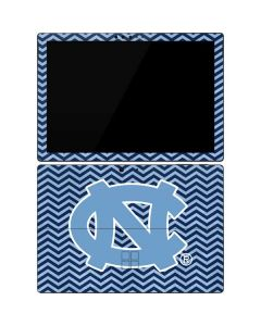 North Carolina Chevron Print Surface Pro 7 Skin