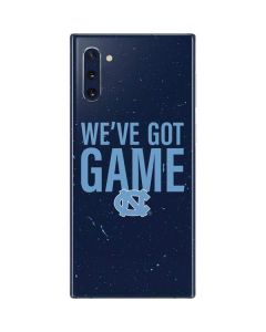 North Carolina Got Game Galaxy Note 10 Skin