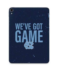 North Carolina Got Game Apple iPad Pro Skin