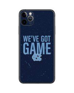 North Carolina Got Game iPhone 11 Pro Max Skin