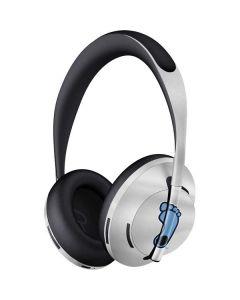 North Carolina Tar Heel Footprint Logo Bose Noise Cancelling Headphones 700 Skin