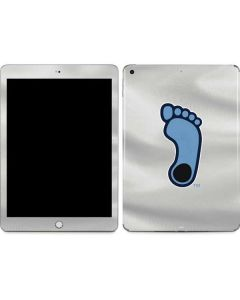 North Carolina Tar Heel Footprint Logo Apple iPad Skin