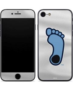North Carolina Tar Heel Footprint Logo iPhone SE Skin